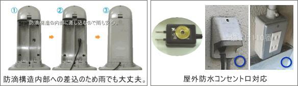 ガーデンバリアGDX2専用アダプター